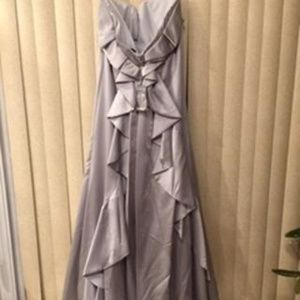 Jovani Dresses - FABULOUS FROST SATIN EMBELLISHED EVENING GOWN 20